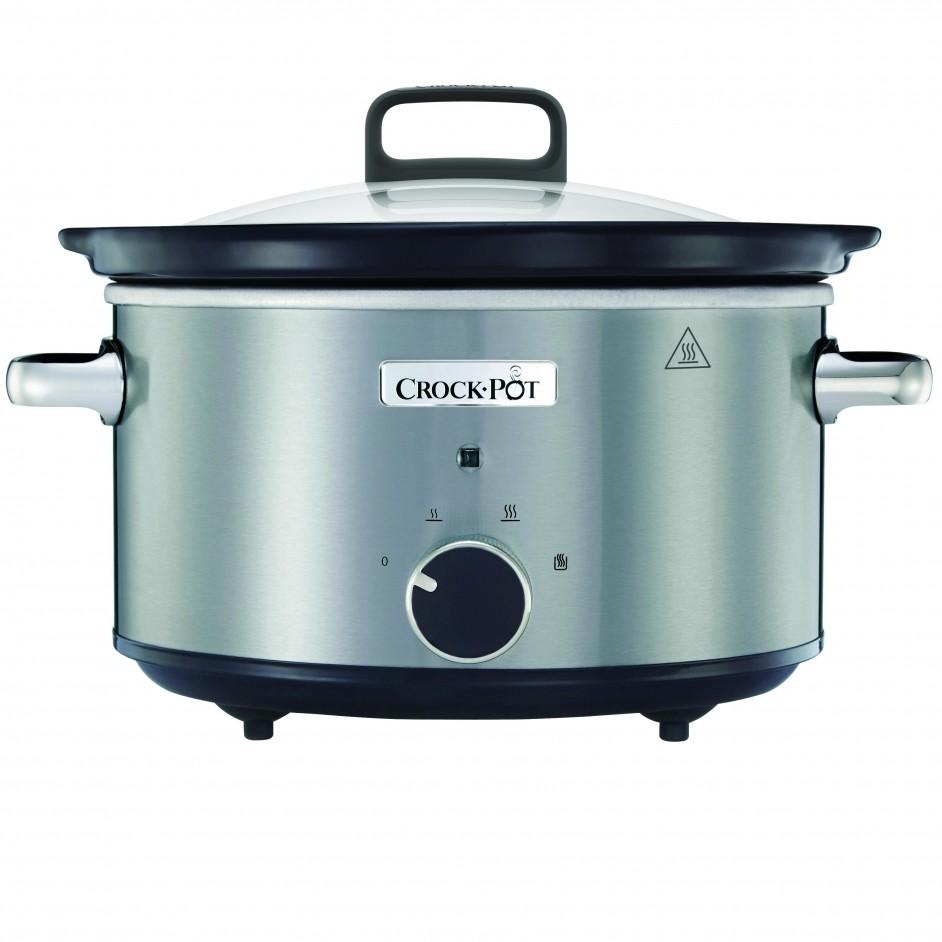 Crock-Pot Slow Cooker 3,5L RVS