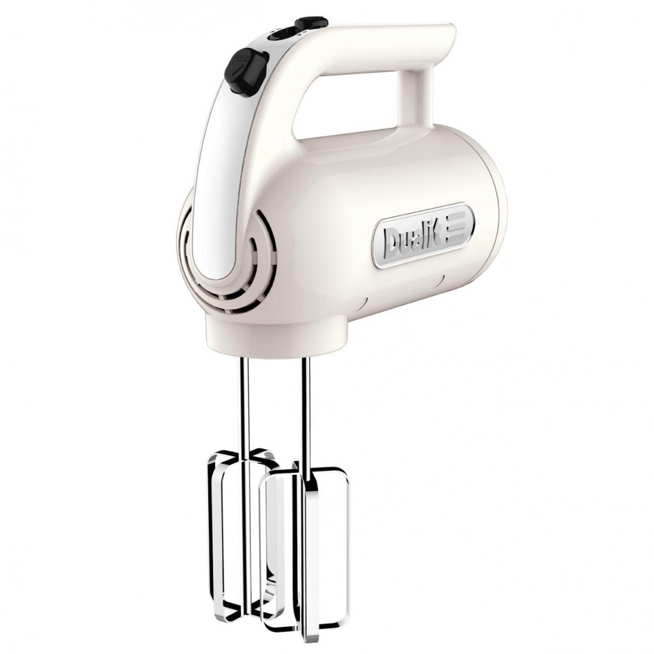 Dualit Handmixer set Canvas white